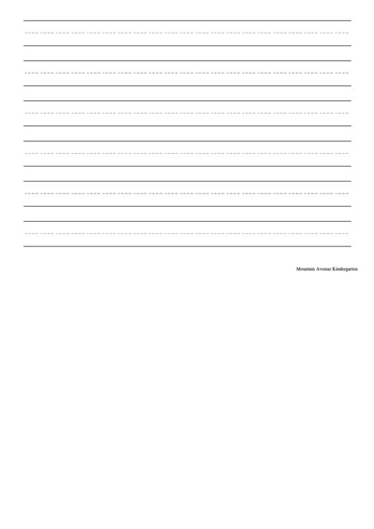 Cursive Handwriting Sheet