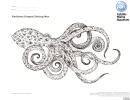 Octopus Coloring Sheet