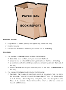 Paper Bag Book Report