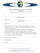 Photo Permission And Release Form