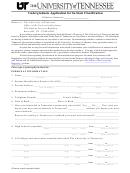 Undergraduate Application For Instate Classification