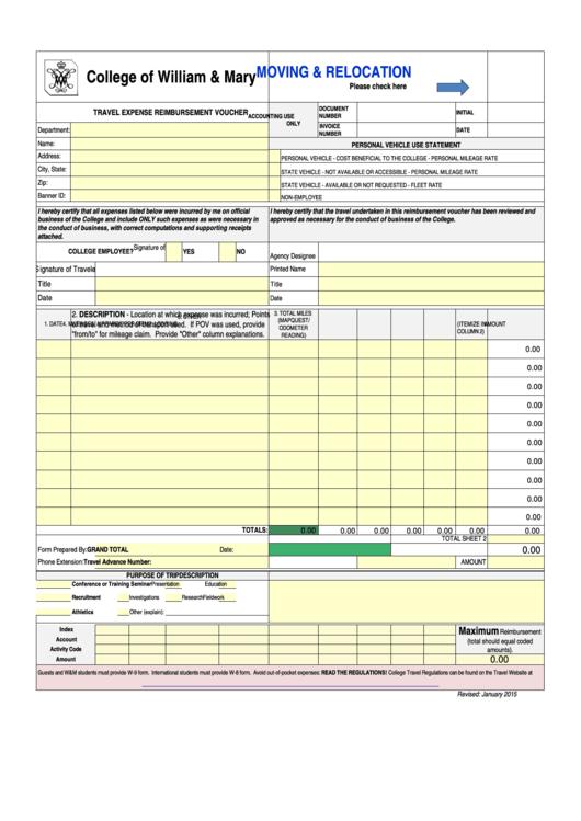 18 Travel Reimbursement Form Templates Free To Download In Pdf
