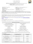 Southwest High School Course Syllabus Business Education