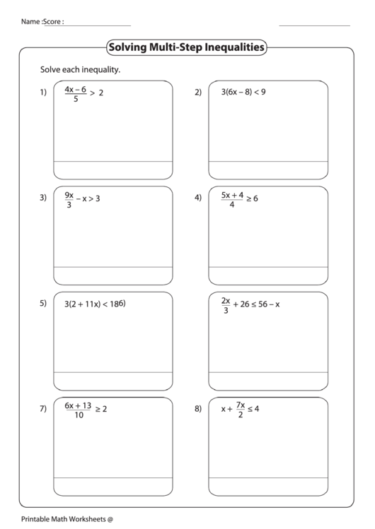 How To Solve Multi Step Inequalities Math Math Worksheet Multi Step in addition Multi Step Inequalities worksheets together with  together with 6th Grade Math Inequalities Worksheet New Solving Multi Step together with Yesnursenonurse   Easy Worksheets Pre Printable  Download besides Multi Step Inequalities Worksheet Math Solving Multi Step besides  moreover Inequalities Hangman  Solve Multi step Inequalities Hangman style likewise Solving Multi Step Inequalities Worksheet Awesome Kuta together with Multiple Step Inequalities Worksheets   Ivoiregion besides Alge 1 Worksheets solving Multi Step Equations   Homeshealth info together with  together with Solving One Step Inequalities Worksheet Large Size Of Fraction as well Solving Multi Step Inequalities Worksheet printable pdf download also Kuta  Algebra 1  Multi Step Inequalities Part 1   YouTube further Multi Step Inequalities Lesson Plan   Clarendon Learning. on solving multi step inequalities worksheet