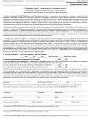 Consumer Report Form / Investigative Consumer Report Form (including Substance-abuse Testing / Drug Testing) Disclosure And Release Of Information Authorization Form