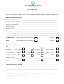 Job Order Form (for Employers/recruiters)
