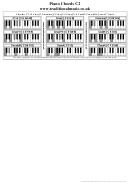 Piano Chords C2