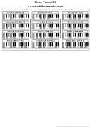 Piano Chords E4