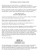 John Mcganns Guide To Mando Triads