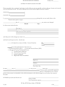 Idaho Board Of Nursing Affidavit For Change Of Name