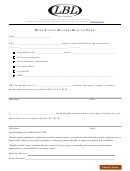Home School Records Request Form