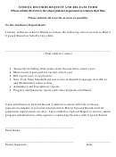 School Records Request And Release Form