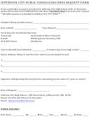 Schools Records Request Form
