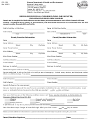 Form Ccl. 029 - Medical Record For All Children In Child Care Facilities, Including Provider's Own Children