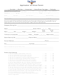 Application For Driver Permit - Fort Worth