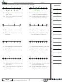 Fraction Location On Numberline Worksheet With Answer Key