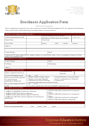 Enrolment Application Form