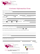 Customer Information Form - Bang Printing
