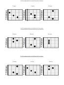 Chord Progressions Chart
