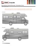 Recreational Vehicle Warranty Evaluation Form