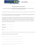 Drug And Alcohol Test Consent Form