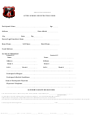 After School Registration Form - Finding Me Academy Global