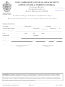 Non-payment Of Wage And Workplace Complaint Form- Page 1