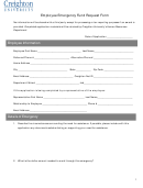 Employee Emergency Fund Request Form