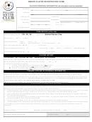 Welland Soccer Club Senior Player Registration Form