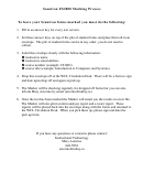Scantron Es2800 Marking Process Instruction