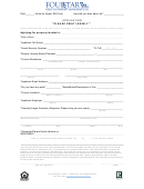 Rental Application Form - Four Star Realty Property Management