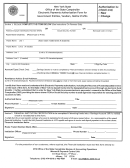Electronic Payments Authorization Form For Government Entities, Vendors, Not-for-profits, Form Ac 3237 - Substitute Form W-9