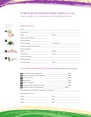 School Registration Form Children In Care