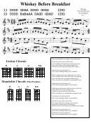 Whiskey Before Breakfast (guitar Chords & Mandolin Chords)