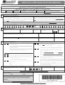 Class D, M, Or D/m License And Id Card Application Form