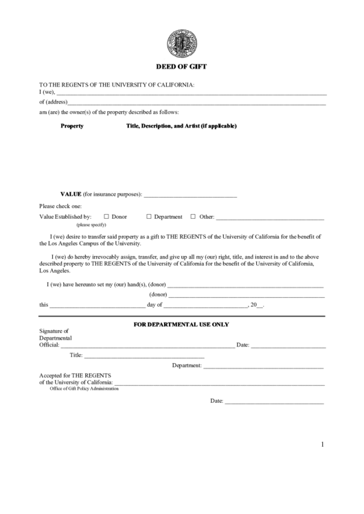 Top 20 gift deed form templates free to download in pdf format for Deed of gift template australia