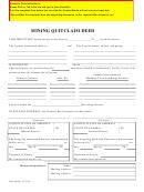 Mining Quitclaim Deed