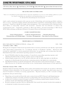 Healthcare Controller Resume