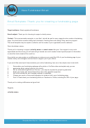 New Fundraiser Email Template