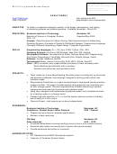 Bs Cs Co-op Student Resume Sample
