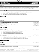 Sample Resume - Technician Position