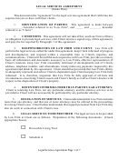 Legal Services Agreement Form