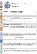 Derbyshire Constabulary Job Description Hr Services Manager