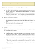 Template Of A Mediation Agreement