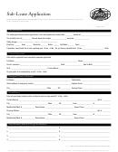 Sub-lease Application