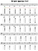 Bbb Tuba Fingering Chart