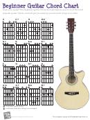 Beginner Guitar Chord Chart - Music Waves