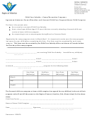 Child Care Subsidy - Camp/recreation Programs Agreement Between Parent/guardian And Licensed Child Care Program/home Child Caregiver