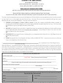 Mail Ballot Signature Form