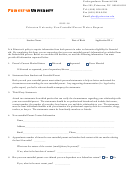 2015-16 Princeton University Non-custodial Parent Waiver Request